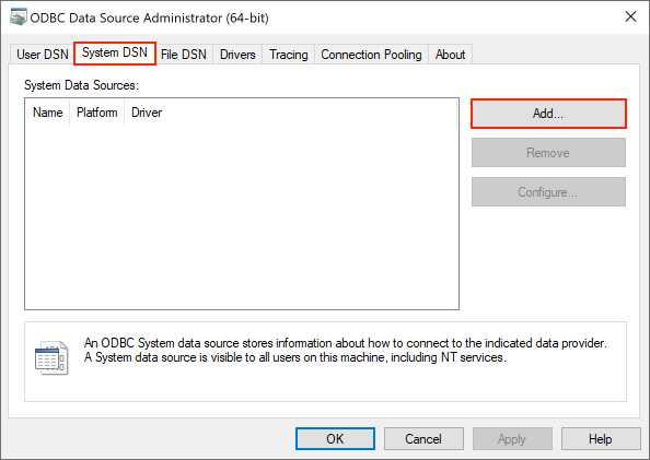 Connect to PostgreSQL from Windows with ODBC - iNTERFACEWARE Help Center